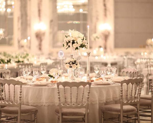 come organizzare i tavoli per matrimonio
