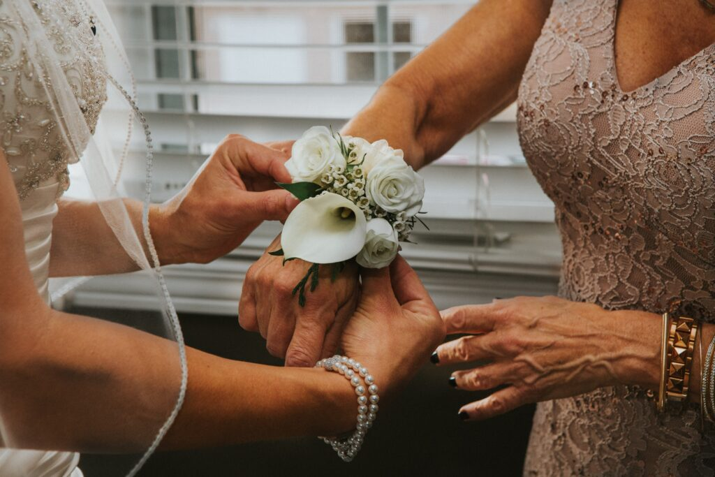 mamma della sposa look